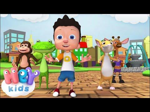 Если Весело Живется, Делай Так - Песни Для Детей .tv