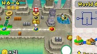 World 6-4 | Star Coins | New Super Mario Bros DS
