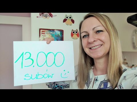 13 000 suböw Dziekuje Konkurs  /Kasia ze slaska...;-)