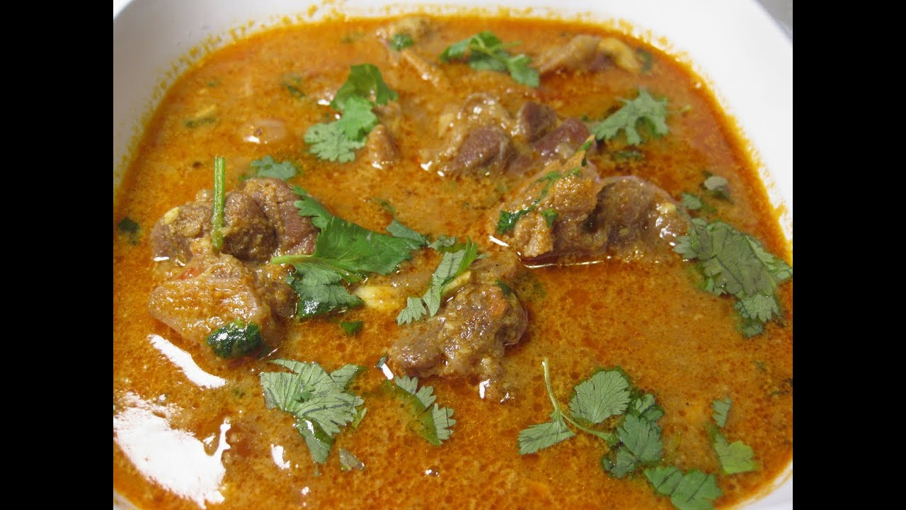 Mutton curry - YouTube