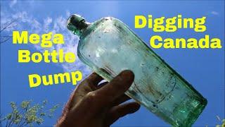 Digging A Huge Old Town Bottle Dump In Canada