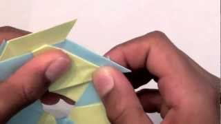 How To Make An Origami 8 Pointed Ninja Star/frisbee Reversable