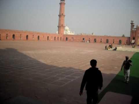 Badshahi Mosque Pakistan January 2009