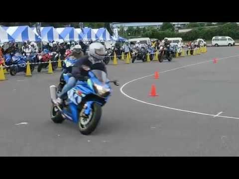 Suzuki Test Riding in Tokyo 2015