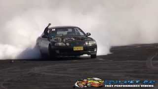 ROARER AT BURNOUT MANIA SYDNEY DRAGWAY 6.10.2014