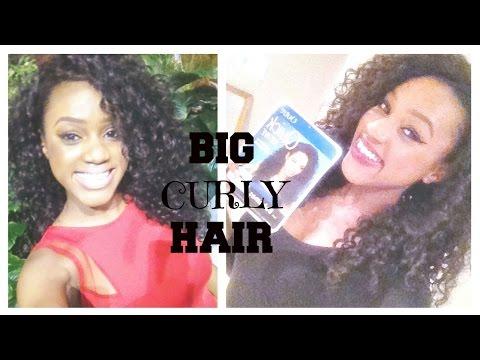 BIG CURLY HAIR CHEAP PART 1   OUTRE HALF WIG BAHAMAS