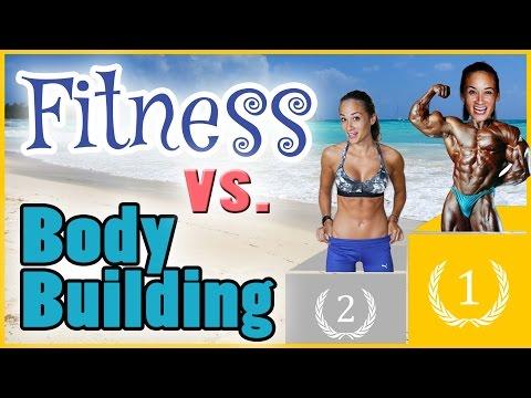 Fitness Vs Bodybuilding - Traumfigur - Effektiv Sport Treiben - Körperkult Vs Gesundheit