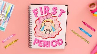 DRAW MY LIFE: First Period! Basically what not to do when getting your first period hehe..