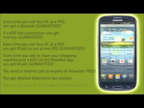 Kowallet Cardbased Mobile Wallet And Merchant Payment Processor