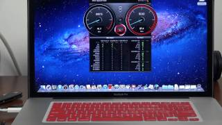 Seagate Goflex Thunderbolt Open Boxing Review speed test