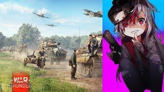 """게임 """"War Thunder""""에서 오랜만에 혼자서 지상전하는 영상"""