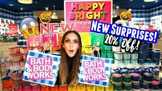 LETS SHOP AT BATH & BODY WORKS | NEW SCENTS + HAUL!
