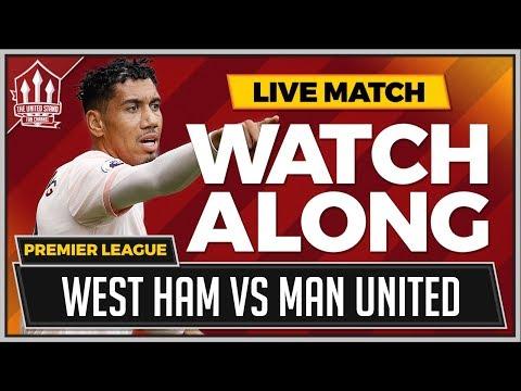 West Ham vs Manchester United  Stream Watchalong