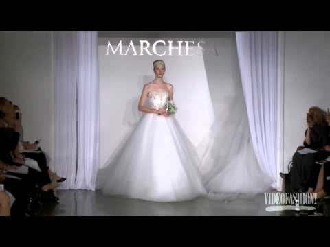 Marchesa Bridal Autumn/Winter 2013-14 - Videofashion