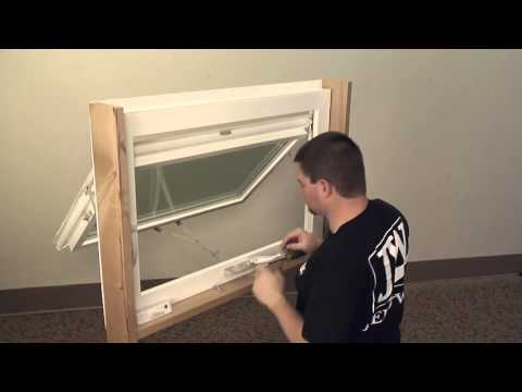 How to Replace the Operator on a Vinyl Awning Window