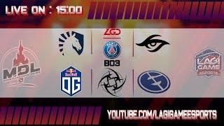 [Ligagame DOTA 2] Team Liquid VS PSG.LGD - MDL Disneyland Paris Major