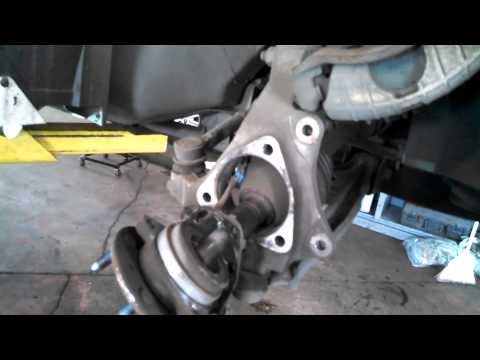 Hub assembly wheel bearing replacement 2000 Pontiac Grand Am Malibu Alero Install Remove
