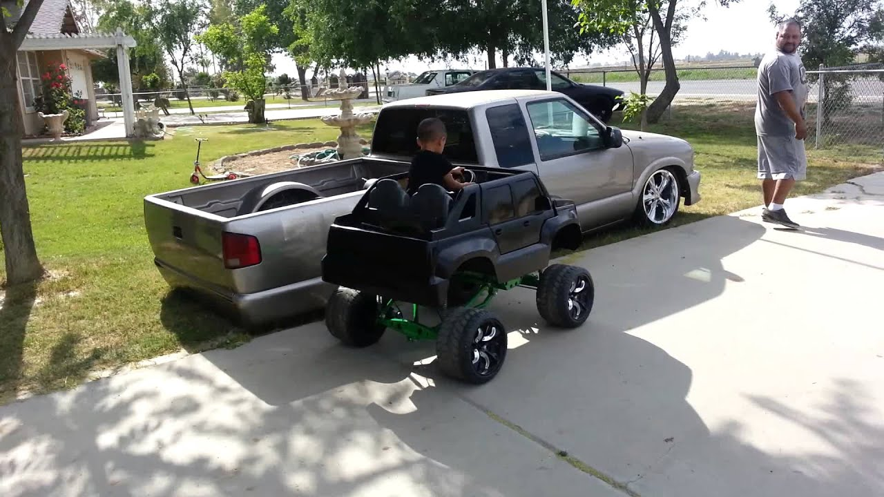 Power Wheels Hydraulics Lifted Custom Power Wheel