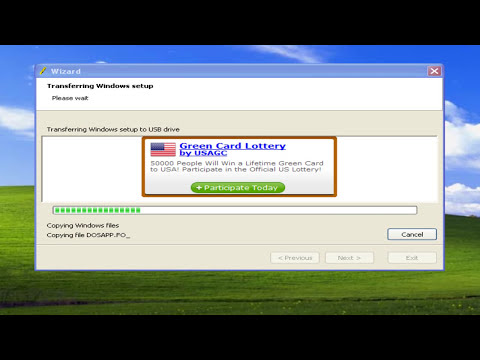 How To Boot Windows Xp Vista  Windows 7 From A USB Flash Drive