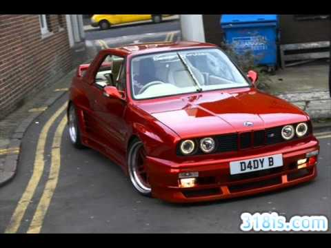 Yanlayan BMW E30 lar Video