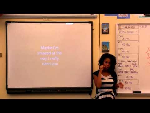 The Howard School ASL I - 10/15/2013