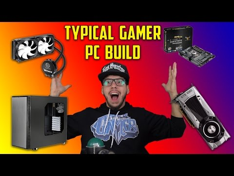 THE TYPICAL GAMER ULTIMATE GAMING PC LOG!! (How to build a gaming PC)
