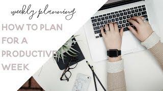 How I Plan my Week (Weekly Planning in Google Calendar & ToDoist)