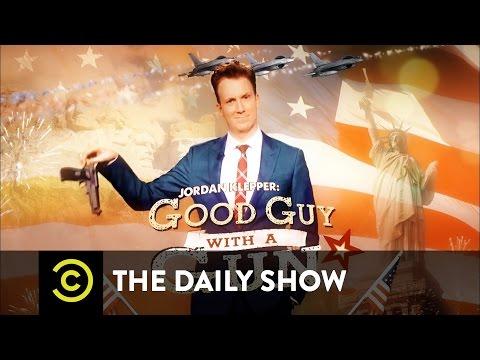 The Daily Show - Jordan Klepper: Good Guy with a Gun