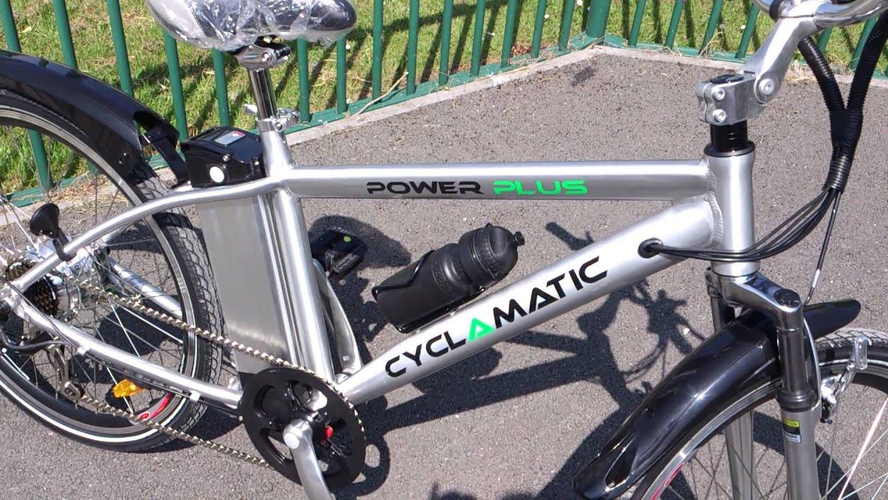 Cyclamatic Power Plus Electric Bike Youtube