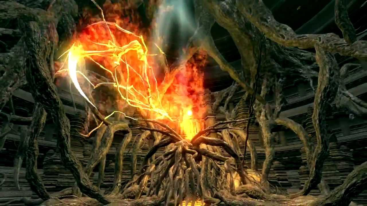 dark souls bed of chaos boss fight youtube