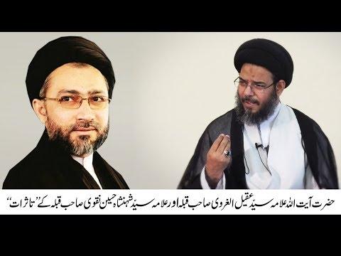 Tasurat Allama Aqeel Ur Garvi aur Allama Syed Shahenshah Naqvi