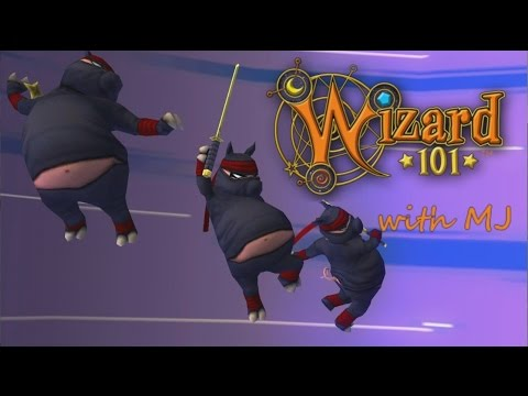 Wizard101 with MJ: Whaling on evil undead