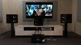 Klipsch THX Ultra2 With Life Audio Cable.