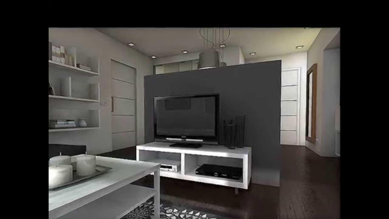 Dise o interior apartamento 55 m2 youtube for Diseno de interiores apartamentos medellin