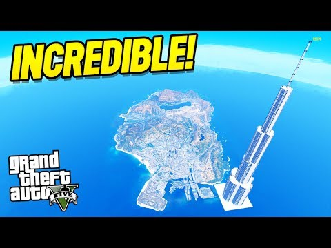 GTA 5 : THE MEGA TOWER?! (GTA 5 Mods)