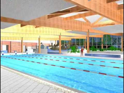 Piscine des gayeulles youtube for Piscine brequigny