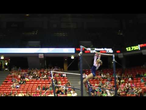 Bailie Key - Uneven Bars  - 2012 Secret U.S. Classic