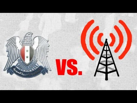 Syria's Internet blackout and the propaganda war - Truthloader