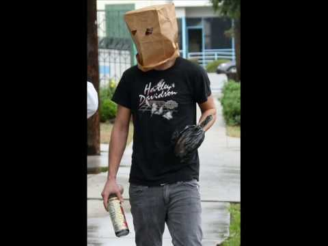 Shia Labeouf Paper Bag Over Head