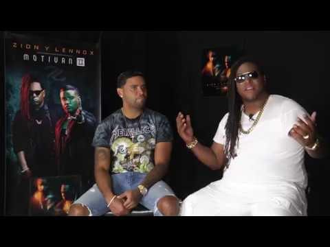 """Zion y Lennox: """"El secreto para seguir juntos es la paciencia"""" videos"""