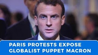 "France's ""Yellow Vest"" revolution exposes globalist puppet Macron"