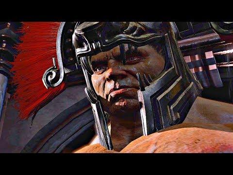 God of War 3 - Kratos Defeats Hercules (Brother vs Brother)