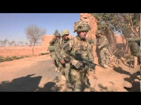 Scottish troops British army support Afghans joint operation Tufaan Afghanistan British Army Website