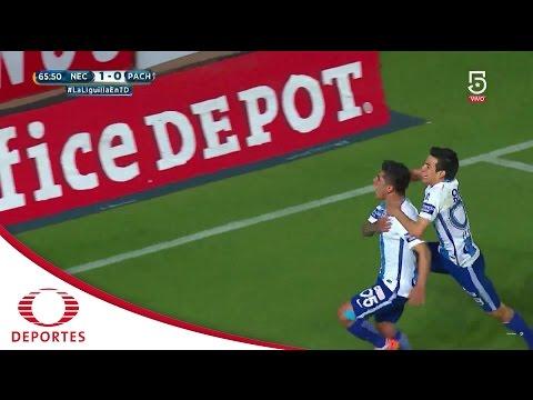 Gol de Víctor Guzmán | Necaxa 1 - 1 Pachuca | Cuartos de Final | Televisa Deportes