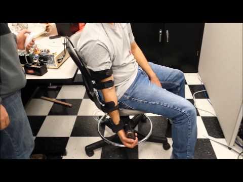 ExoArm: Strength Test with Exoskeleton Brace for the Arm (Trial #3)