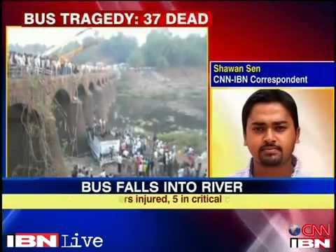 Maharashtra bus accident kills 37