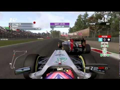 F1 2011   Monza Multiplayer Battle