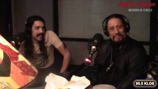 Danny Trejo in-studio on Jonesy's Jukebox