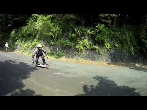 Downhill Skateboarding â—‰Japan|dh Camp 25May'13
