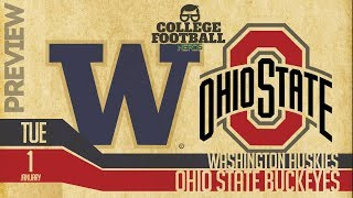 Washington vs Ohio State - 2019 Rose Bowl Preview & Predictions - College Football 2018